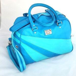 Lululemon Vintage Blue Gym Weekender Bag